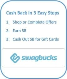 swagbucks cash back steps