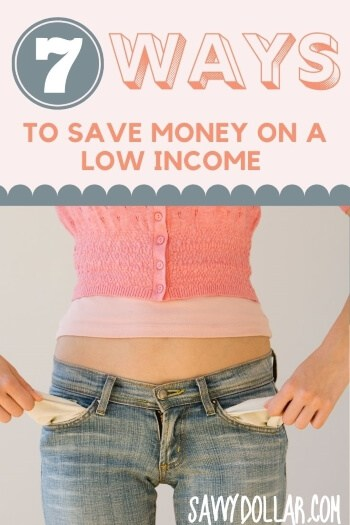 save money low income