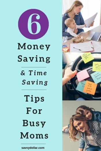 money-saving tips for busy moms
